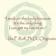 Rolfing® Structural Integration